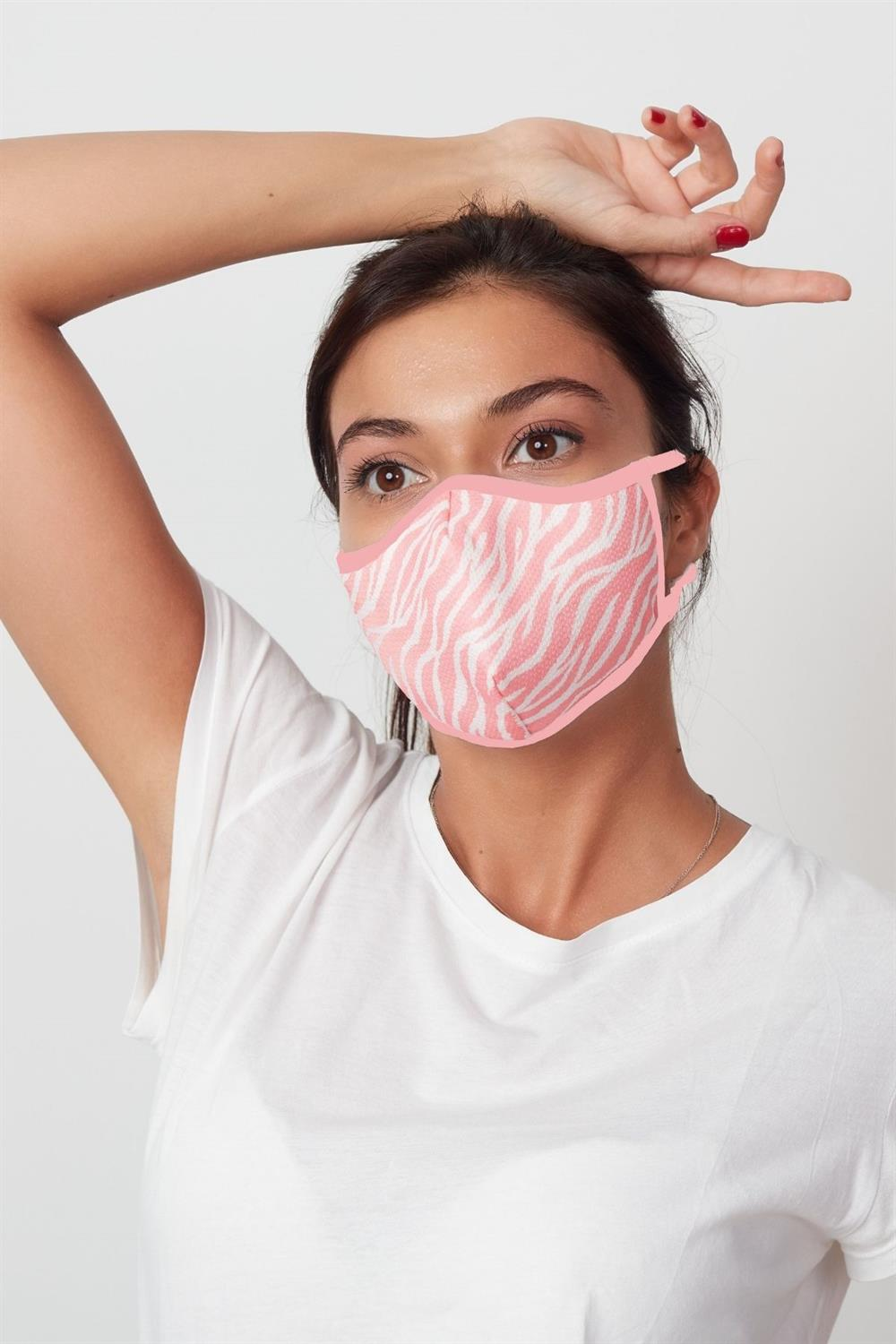 Medifash-Tutishop Pink Waves Maske